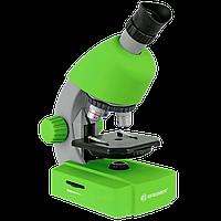 Мікроскоп Bresser Junior 40x-640x, зелений, Bresser, 70124