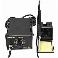 Паяльная станция HandsKit 936, 60W 5pin, силиконовый кабель, 200-480°C, 60Вт
