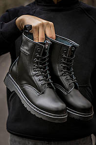 Мужские Ботинки Dr Martens 1460 MONO Black