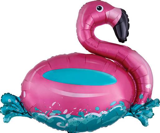 Фигура КИТАЙ-КТ Фламинго плавающий (УП), фото 2