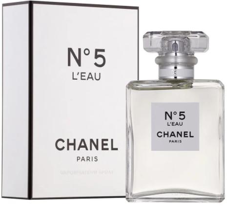 Жіноча туалетна вода Chanel № 5 L'eau