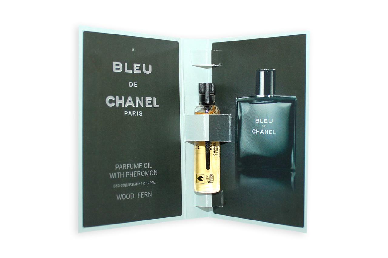 Масляний міні-парфуми з феромонами Chanel Bleu de Chanel, 5 мл