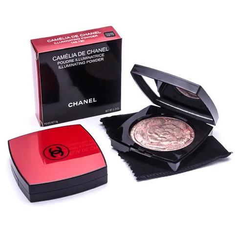 Рум'яна CHANEL Camelia De Chanel (палітра В)