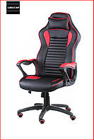 Кресло геймерское Special4You Nero (красный) с подголовником Компьютерное кресло Игровое Профессиональное