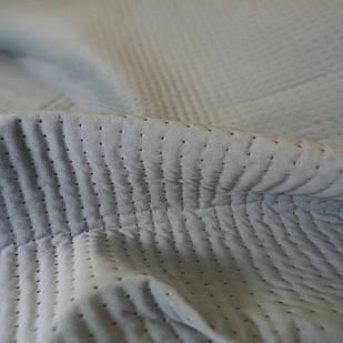 Стеганая ткань Trinity 22 Aqua Dots S, велюр