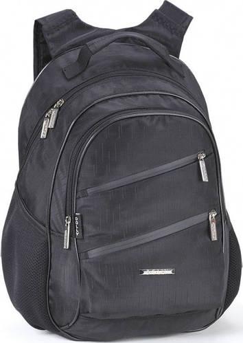 Удобный школьный рюкзак для мальчика Dolly (Долли) 580 черный