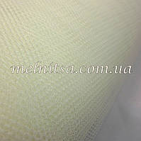 Фатин жесткий, ширина 1,8 м, цвет эйвори