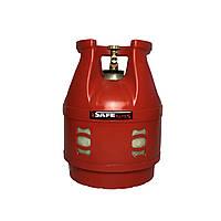 Баллон газовый 12л SAFEGAS композитный пропановый безопасный