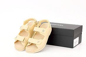 "Женские сандалиии Chanel ""Dad"" sandals Yellow"