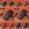 """Чохол книжка з натуральної шкіри магнітний протиударний для Samsung M30s M307F """"ITALIAN"""", фото 3"""