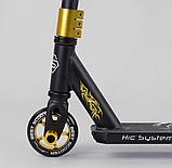 Самокат трюковий 22879 Best Scooter HIC-система, ПЕГІ, алюмінієвий диск і дека, PU колеса, фото 4