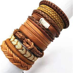 Жіночі шкіряні браслети