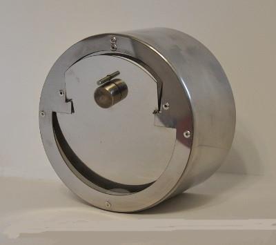 Регулятор тяги дымохода 150 мм купить дымоход из нержавейки 120