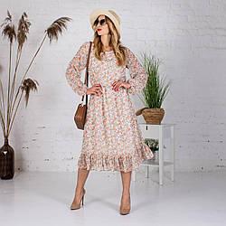 Женское  летнее платье Сана шифоновое Белла