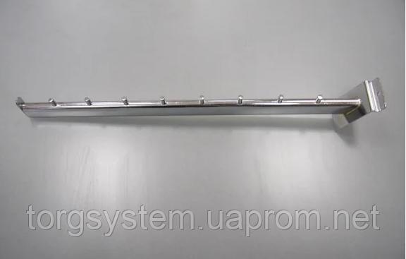 Кронштейн прямий на 8 гвоздиків для економпанелей L=500мм
