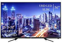 """Сучасний Телевізор JVC 56"""" Smart-TV ULTRA HD T2 USB Android 9.0 Гарантія 1 РІК, фото 1"""