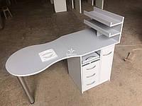 Манікюрний столик з УФ боксом і витяжкою 16Вт Модель V140, фото 1