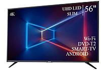 """Сучасний Телевізор Sharp 56"""" Smart-TV ULTRA HD T2 USB Гарантія 1 РІК!, фото 1"""