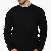 Свитшот мужской Без принта (No print)  (8771-1094-6) Черный