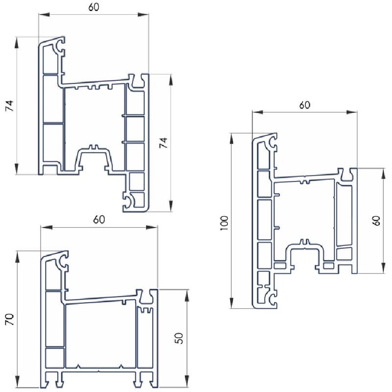 Дверні системи OpenTeck ОпенТек (прайс)