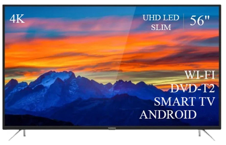 "Современный Телевизор THOMSON 56""  Smart-TV ULTRA HD T2 USB Гарантия 1 ГОД!"