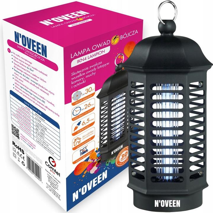 Инсектицидная лампа N'oveen IKN4, 30 м2