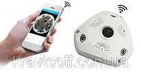 Панорамная Wi-Fi IP камера 360° (рыбий глаз) 1080