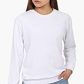 Свитшот женский Без принта (No print)  (8771-1094) Белый