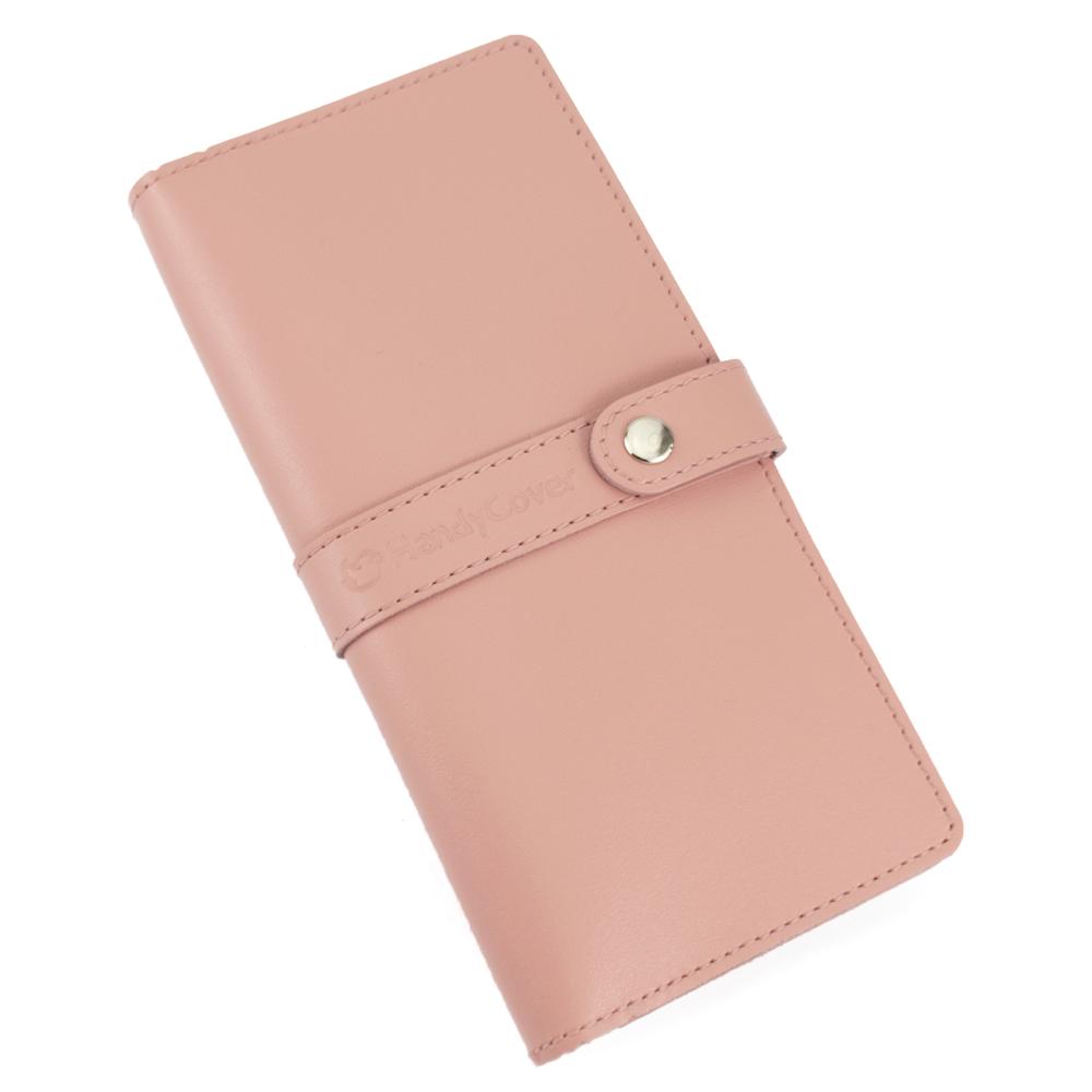 Кошелек женский кожаный большой Handycover HC0078 розовый