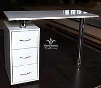 Манікюрний столик з лівосторонньою або правобічною тумбою Модель V44, фото 1