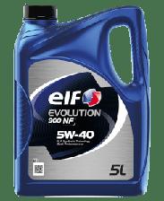 Моторное масло ELF 5w-40 NF 4л