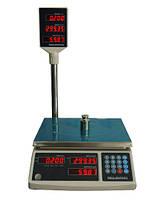 Весы торговые Икс-маркет со стойкой ICS-6 NT