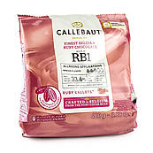 Шоколад кувертюр Callebaut Ruby 47.3%, 0,4 кг