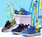 Dinoskulls. Летние LED кроссовки с динозавром, фото 6