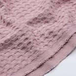 """Лоскут ткани""""Бельгийская вафелька"""" пудрового цвета, размер 30*230 см, фото 2"""