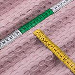"""Клаптик тканини """"Бельгійська вафелька"""" пудровий кольору, розмір 30 * 230 см, фото 4"""