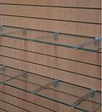 Полкодержатель для экономпанели, с присосками, L=250, фото 2