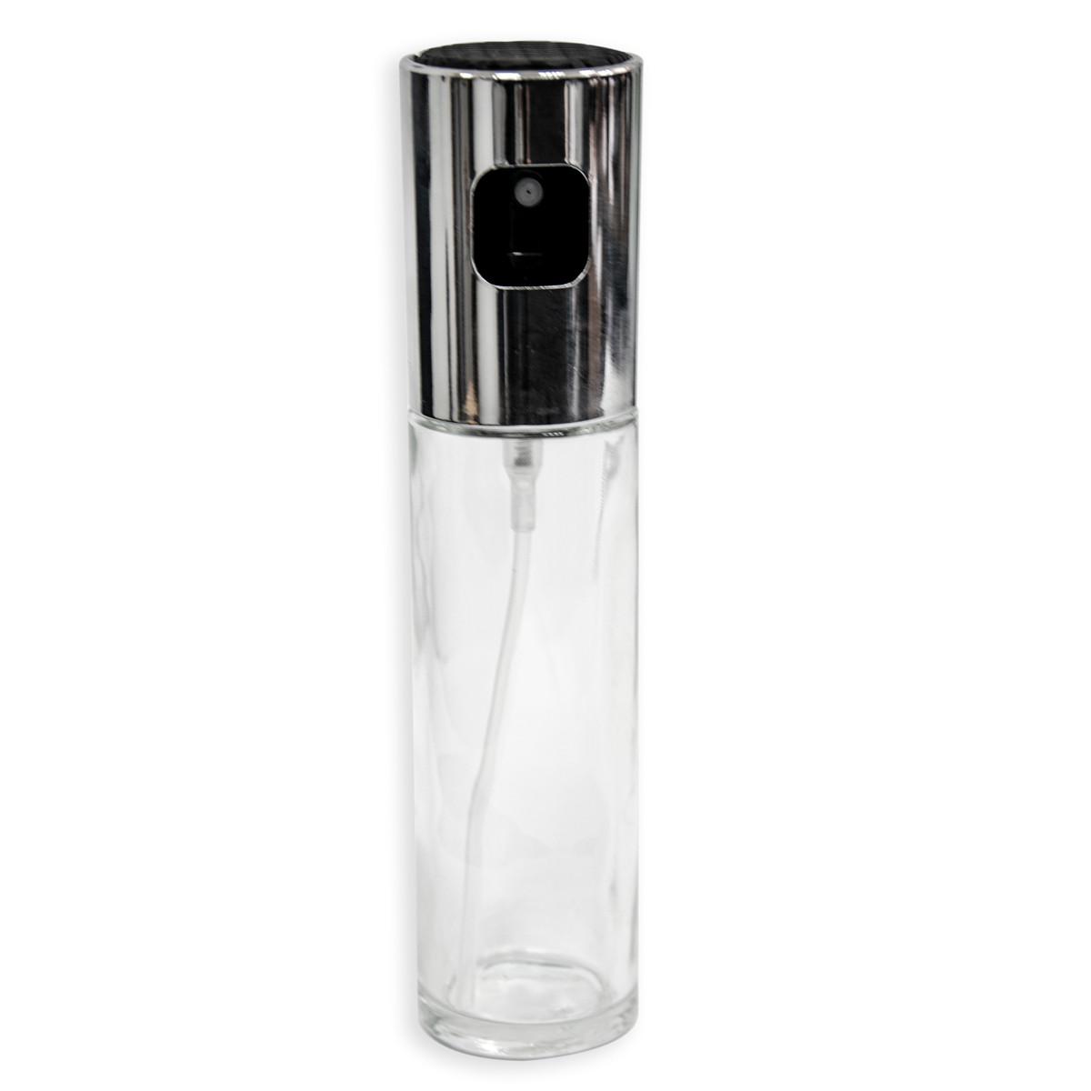 Бутылка для подсолнечного масла со спрей распылителем (100мл), стеклянная емкость для уксуса (ST)