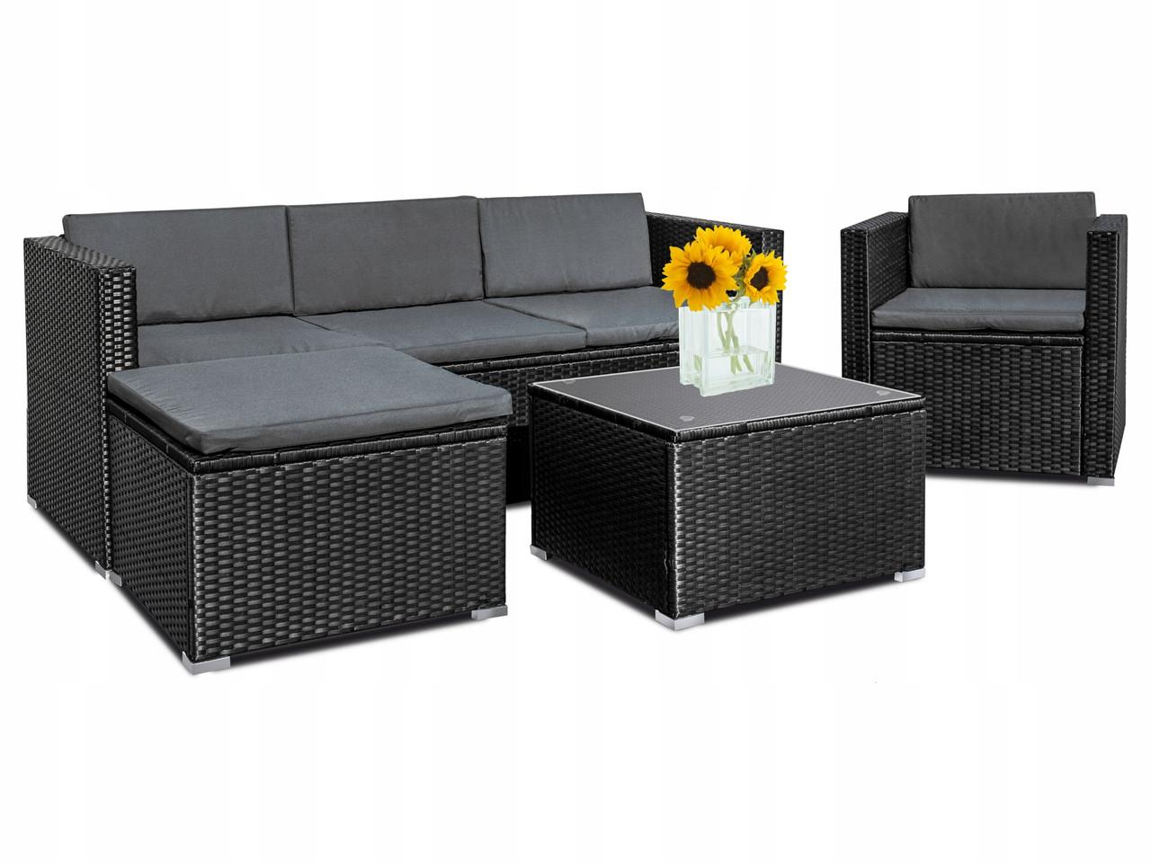 Комплект мебели из техноротанга на 5 человек
