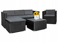 Комплект мебели из техноротанга на 5 человек, фото 1