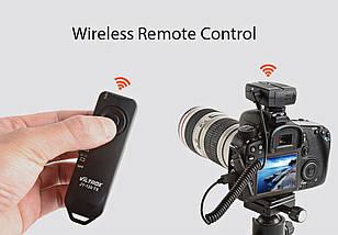 Безпровідний пульт ДУ Viltrox JYC-120-N3 для Nikon D600, D610, D750, D780, фото 3