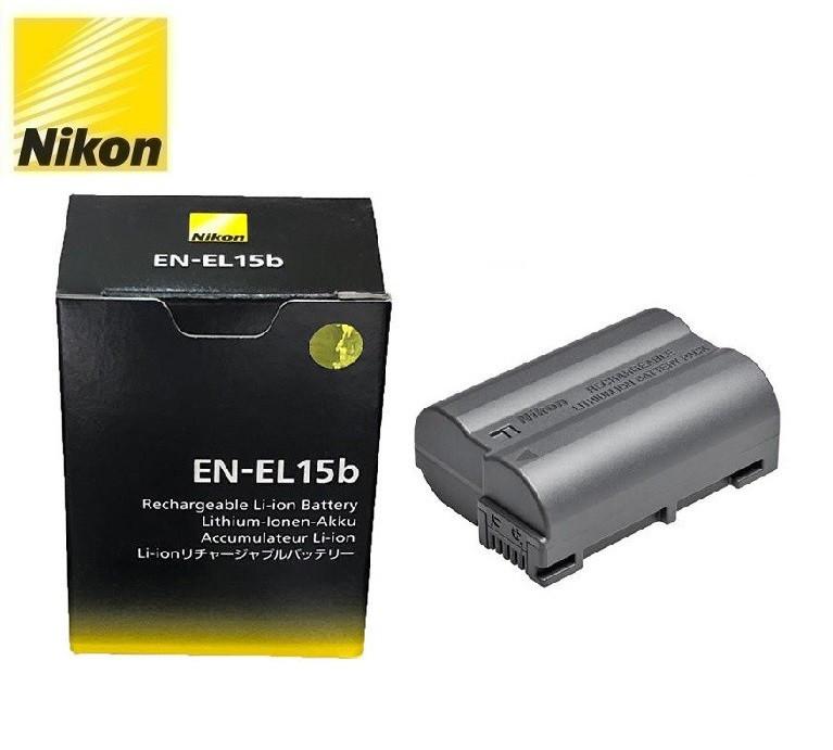 Аккумулятор для камер NIKON D7000 D7100 D7200 D7500 D8000 D500 D600 D610 D750 D780 D800 D810 D850 - EN-EL15B