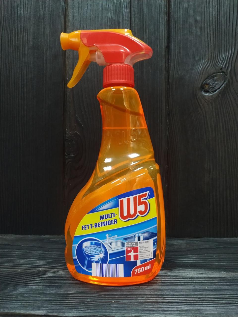 W5 очиститель для кухни Multi средство от жира 750 ml