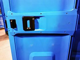 Биотуалет с баком 250 л туалет уличный 100 х 100, кабина автономная мобильная с умывальной раковиной, фото 3