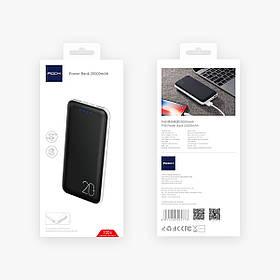 Портативное зарядное устройство Rock Power Bank 20000mAh Черный  КОД: hub_TEYc12353