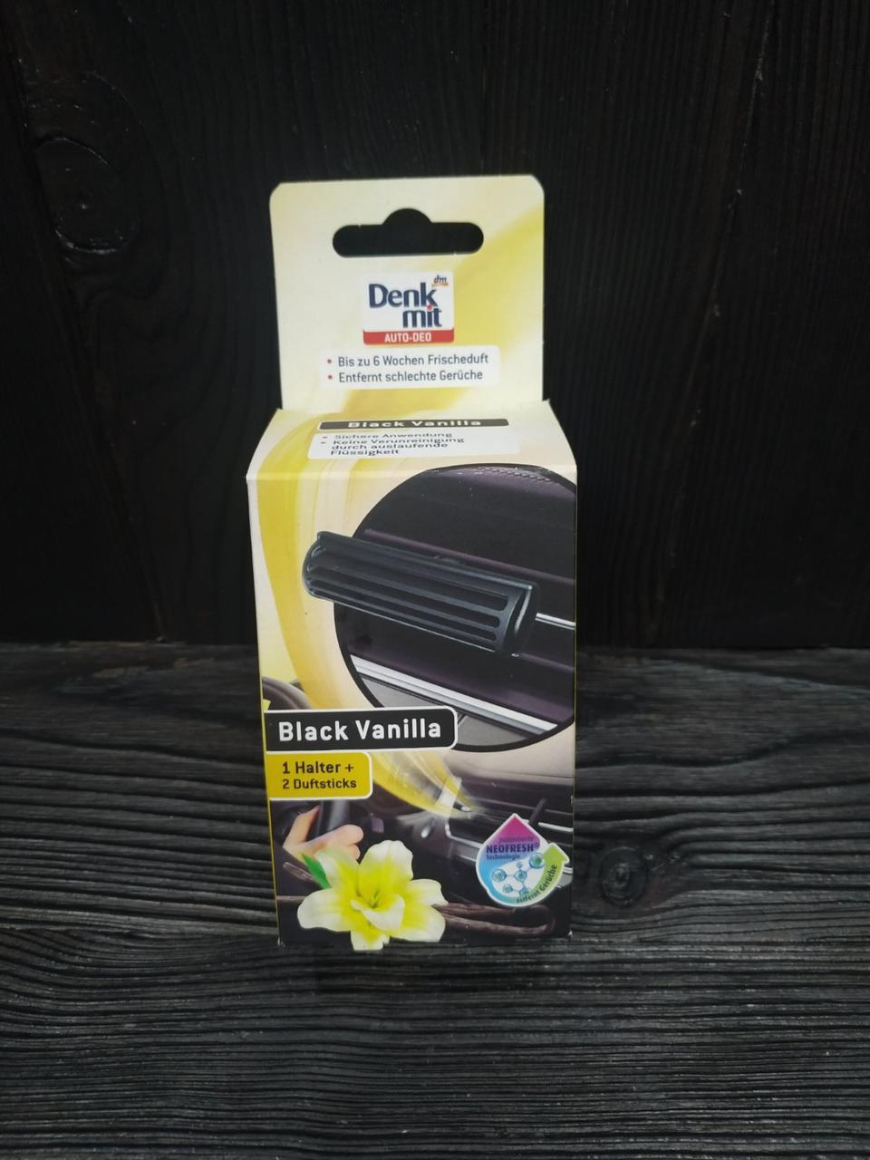 Denkmit освіжувач для авто Vanilla Black