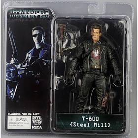 Фігурка Neca Термінатор T-800 Terminator 2 Judgment Day Steel Mill КОД: hub_snAT39343