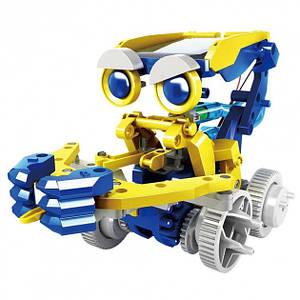 Конструктор робот на сонячній батареї Solar Robot 11 в 1 Розвиваючий набір іграшка для дітей від 8 років