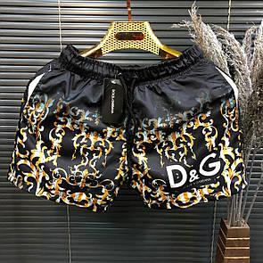 Пляжные мужские шорты Dolce & Gabbana Black