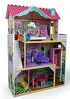 Кукольный домик игровой для барби Avko Вилла Тоскана с лифтом и куклой